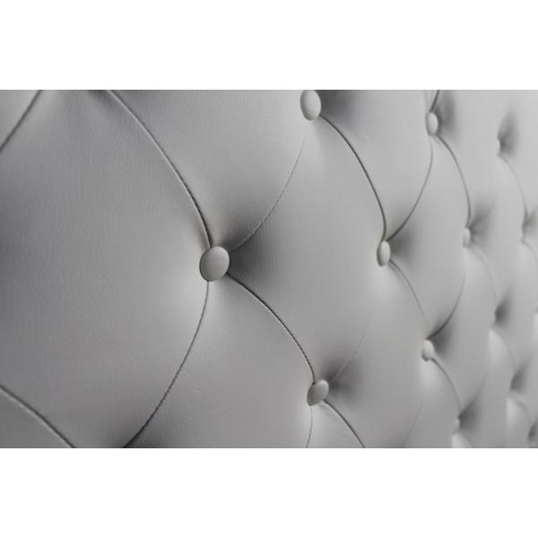 Pin Tà ªte De Lit Simili Cuir Blanc 160 Cm on Pinterest