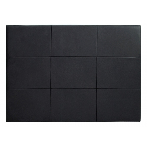 tete de lit cuir noir id e inspirante pour la conception de la maison. Black Bedroom Furniture Sets. Home Design Ideas