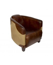 Fauteuil club cigare PARKER