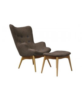 Fauteuil DIEGO taupe