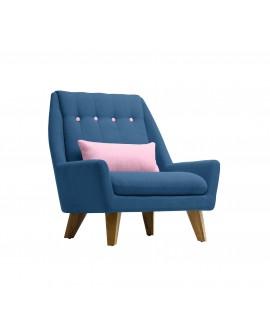 Fauteuil GIPSY bleu / rose