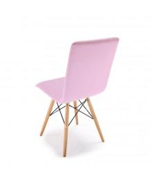 Chaise scandinave YOKO rose