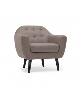 Fauteuil PABLO taupe