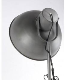 Lampadaire trépied HOLLYWOOD métal gris
